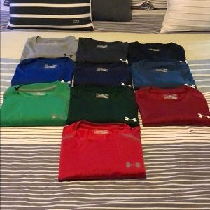 Under Armour Shirts - 10x Size L Under Armour Heat Gear